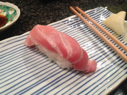 My absolute favorite - medium fatty tuna